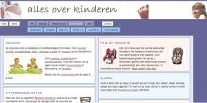 Alles over kinderen screendump
