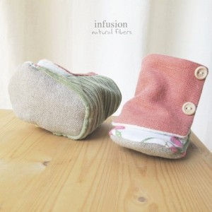 Infusion natural fibers