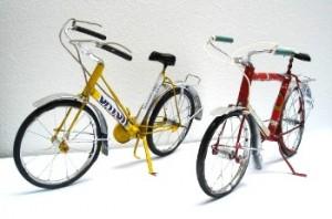 ijzeren fietsjes