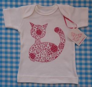 risjebo t-shirt met kat