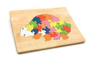 Schildpad Houten puzzels
