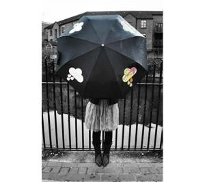 Suckuk paraplu 300x266 Een paraplu die verkleurt!