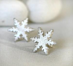 oorbellen sneeuwvlok 300x270 Sieraden voor kerst