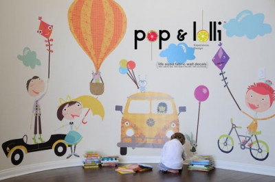poplolli muurstickers 400x266 Pop & Lolli