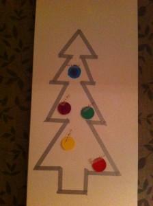 kerstboom tape