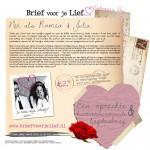 Brief voor je Lief - Romeo & Julia