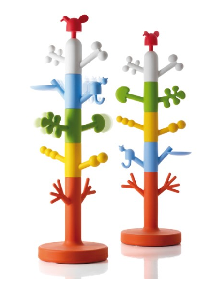 kleurrijke kinderkapstok