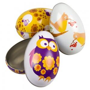 Drie verschillende eieren ScanLiv