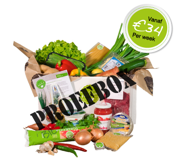 HelloFresh Proefbox Hello Fresh!