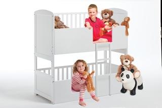 AroundkidzNL_Children 2 beds White1