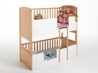AroundkidzNL_Molly 2 beds wood
