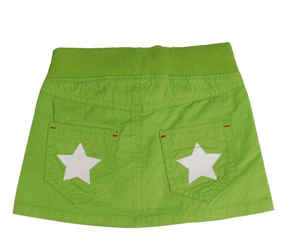 Villervalla rokje ster groen2 Scandinavisch maar dan even anders