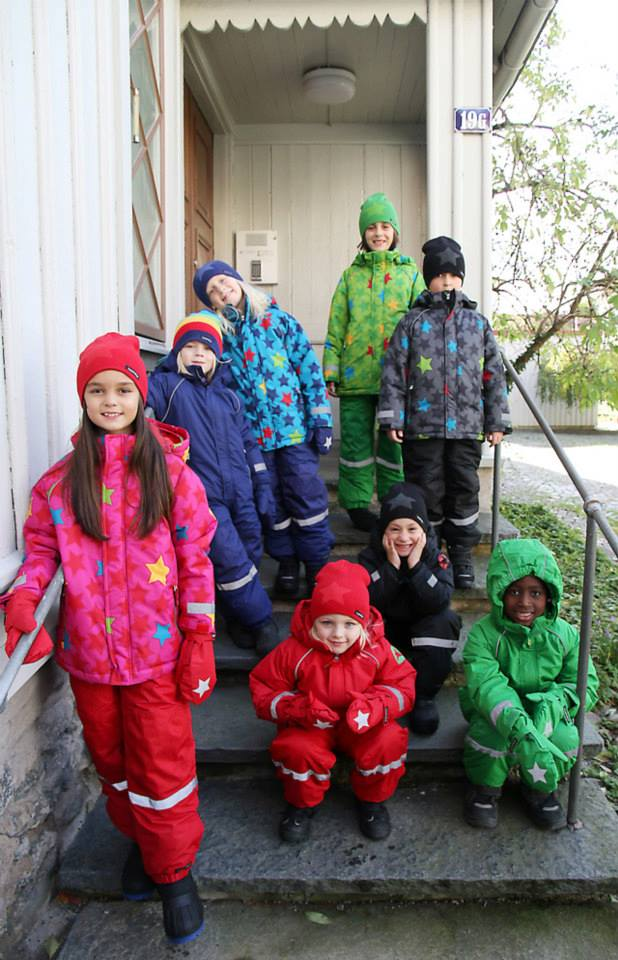 Winterjassen VV sterren en effen Scandinavisch maar dan even anders