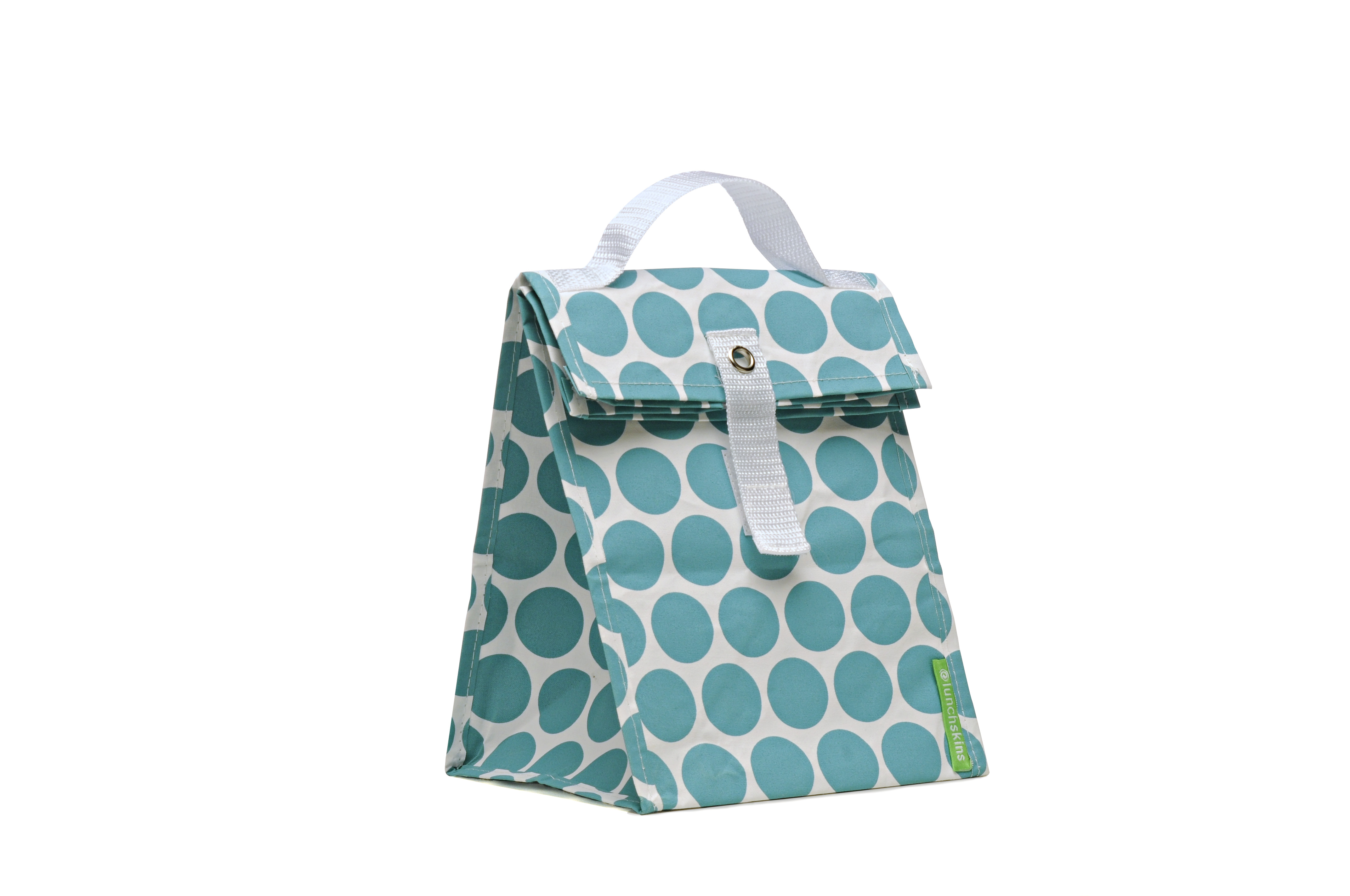 aqua dot tote Perfect voor de lunch