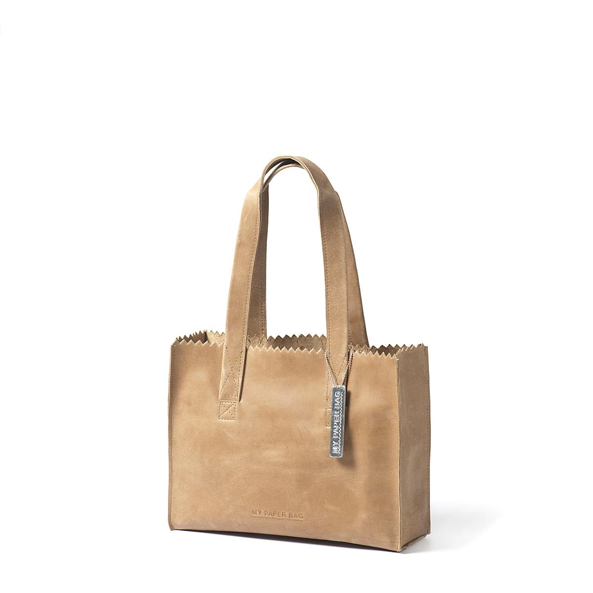 blond My paper bag handbag good for all