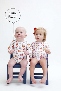 little blond rompers