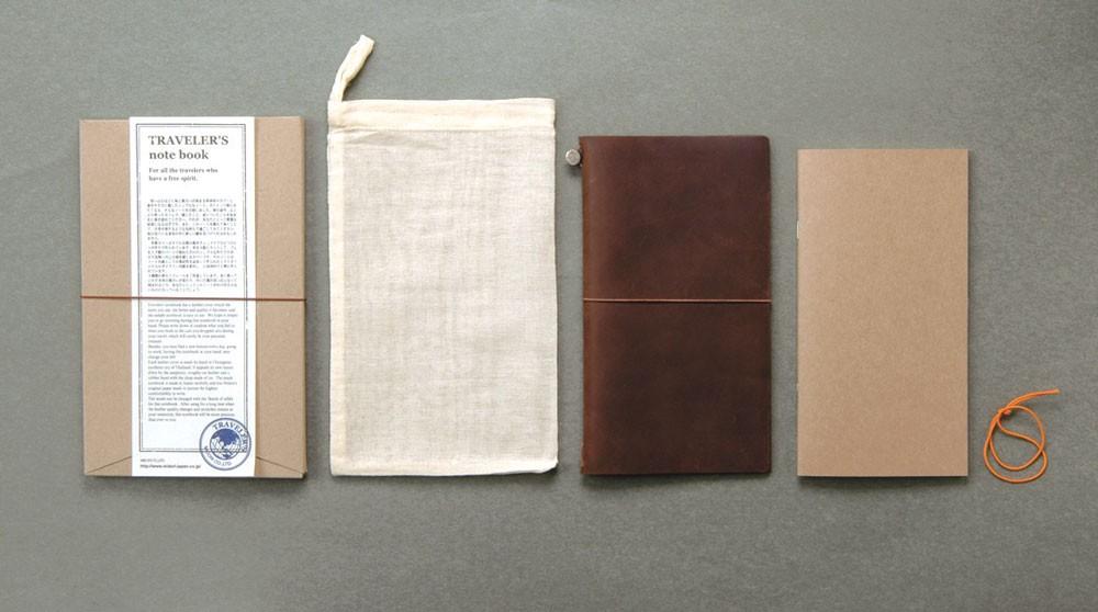 midori-travelers-notebook-brown-set
