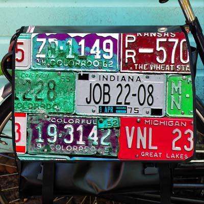 licence plates met naam