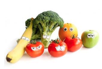 groente met oogjes