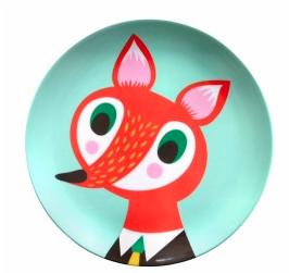 helen dardik vos Eten van een kleurrijk bord