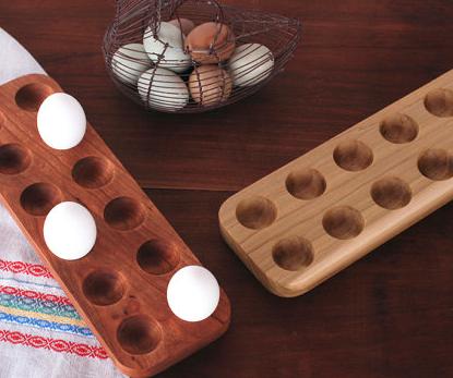 houten eierplank