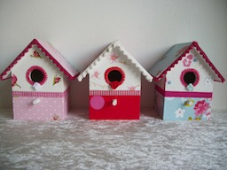 PIP vogelhuisjes1 Partybox for children and DIY box