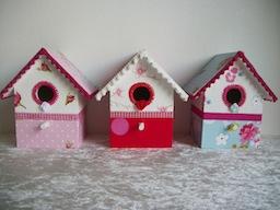 PIP vogelhuisjes