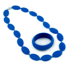 kauwketting blauw