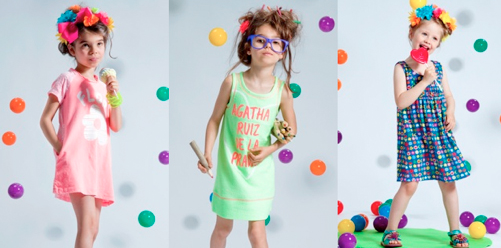 Aghata Ruiz kinderkleding Happy colors from Spain