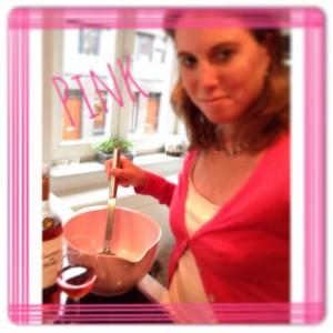pink pancakes 300x300 Pancakes in pink