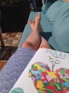 relaxen met maak magazine