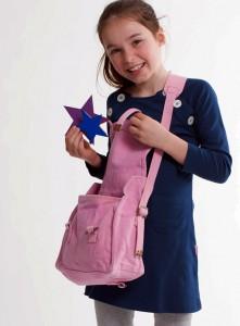 Little Stylist roze tas aangesneden