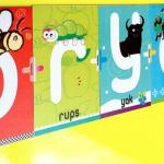 magneetletters 150x150 Dierenalfabet magneten voor de kinderkamer