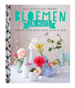 boek bloemen in huis
