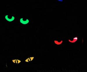 glow in the dark eyes