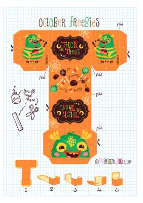 Gratis printable Halloween