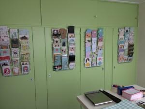 kaarten winkel van papier