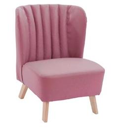 retro stoel roze
