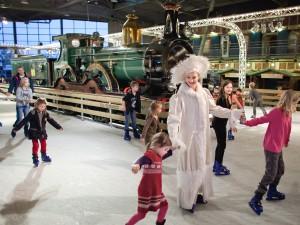14-12-2011, winterstation, Spoorwegmuseum, Schaatsbaan, fotograaf Marieke Wijntjes