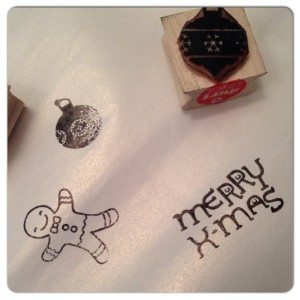 durftestempelen stempels kerst