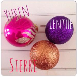 kerstballen uitkiezen