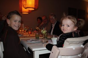 kerstdiner met kinderen