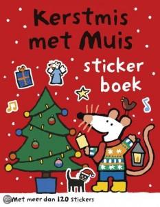 kerstmismuisstickerboek