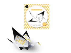 origami vouw vogel
