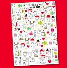 zoekplaat printable kerst