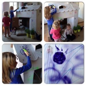 crayola airbrush in actie