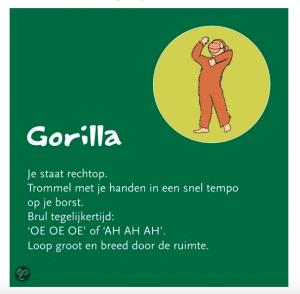 gorilla yogakaarten heleen purperhart