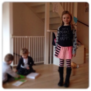 nieuwe outfit