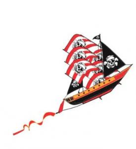 piratenschip vlieger