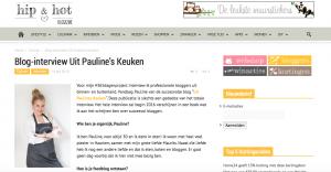 screendump paulineskeuken bloginterview